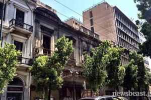 Μιζέρια και εγκατάλειψη στο κέντρο της Αθήνας