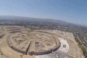 Εικόνες από την κατασκευή του «διαστημοπλοίου» της Apple