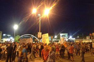 Ολοκληρώθηκαν χωρίς επεισόδια τα συλλαλητήρια στη ΔΕΘ