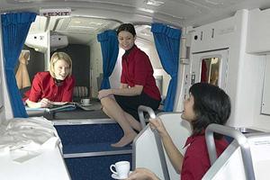 Ιδού οι κουκέτες όπου κοιμούνται οι αεροσυνοδοί