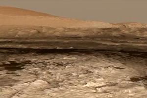 Το Curiosity πάτησε το όρος Σαρπ στον Άρη