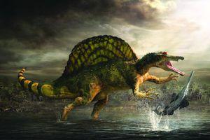 Ανακαλύφθηκε ο πρώτος αμφίβιος δεινόσαυρος