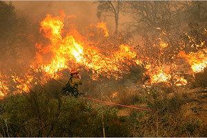 Εκκενώνονται κατοικίες στην Καλιφόρνια λόγω πυρκαγιών