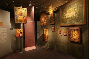 Εικόνες της Δημοτικής Πινακοθήκης στο Εκκλησιαστικό Μουσείο Θεσσαλονίκης