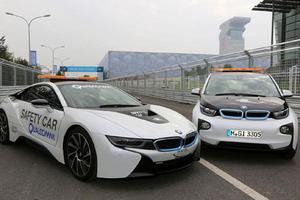 Οι BMW i8 και i3 στην ηλεκτρική Formula E
