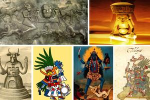Αιμοδιψείς θεότητες από όλο τον κόσμο