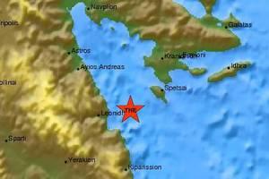 Σεισμός 4 Ρίχτερ στο Λεωνίδιο