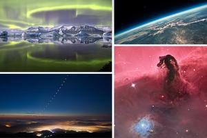 Μια διαφορετική ματιά στο σύμπαν με… πράσινη αύρα και έκρηξη αστεριού