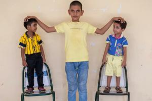 Ο πιο ψηλός 5χρονος του κόσμου