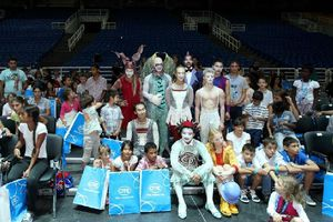 Πάνω από 500 παιδιά από ΜΚΟ στην παράσταση Quidam του «Cirque du Soleil»