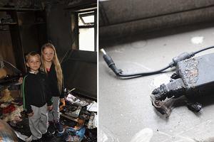Το laptop έκανε το σπίτι τους… κάρβουνο