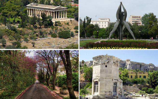 Πώς πήραν το όνομά τους γνωστές περιοχές της Αθήνας