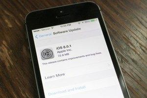 Φιάσκο με την πρώτη αναβάθμιση του iOS 8