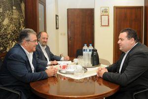 Συνάντηση Κουτσούμπα με τον Κύπριο πρεσβευτή