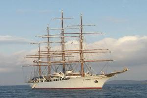 Το θρυλικό κρουαζιερόπλοιο «Sea Cloud» στη Θεσσαλονίκη