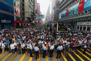 Στη φυλακή τέσσερις επικεφαλής διαδηλώσεων στο Χονγκ Κονγκ