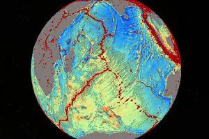 Νέος χάρτης αποκάλυψε άγνωστες υποθαλάσσιες περιοχές