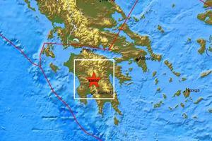 Σεισμικές δονήσεις σε Κρήτη και Πελοπόννησο