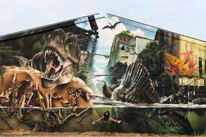 Ένας τοίχος... Jurassic Park