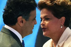 Προβάδισμα της Ρουσέφ έναντι του Νέβες στις εκλογές της Βραζιλίας