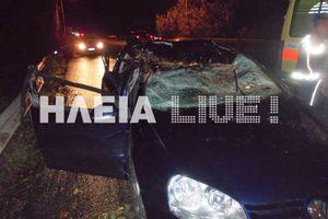Δέντρο καταπλάκωσε αυτοκίνητο στο Λευκοχώρι