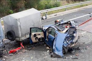 Σοβαρά τρεις τραυματίες της καραμπόλας στην Εγνατία