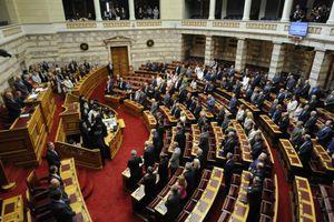 Τα παραλειπόμενα του Αγιασμού στη Βουλή
