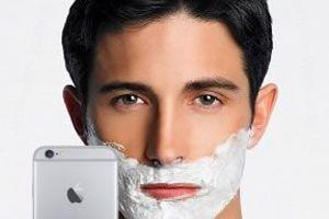 «Το iPhone 6 είναι η καλύτερη συσκευή για... ξύρισμα»