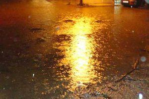 Πλημμύρες στην Πρέβεζα από τις έντονες βροχοπτώσεις