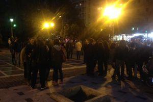 Συγκέντρωση διαμαρτυρίας κατά της υποβάθμισης της παιδείας στη Θεσσαλονίκη