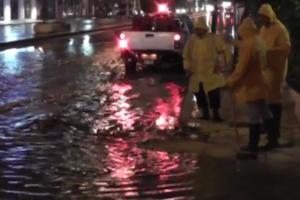 Προβλήματα στην Αλεξανδρούπολη από την ανοιξιάτικη μπόρα