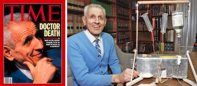 Τζακ Κεβόρκιαν: Ο «Δρ Θάνατος»