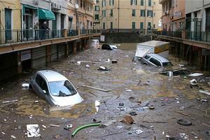 Πλημμύρισε η κεντρική Ιταλία