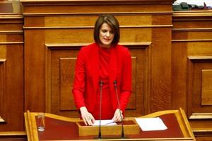 «Παρούσα» θα δηλώσει η ανεξάρτητη βουλευτής Κατερίνα Μάρκου