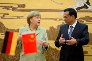 Συνάντηση Μέρκελ με τον Κινέζο πρωθυπουργό στο Βερολίνο