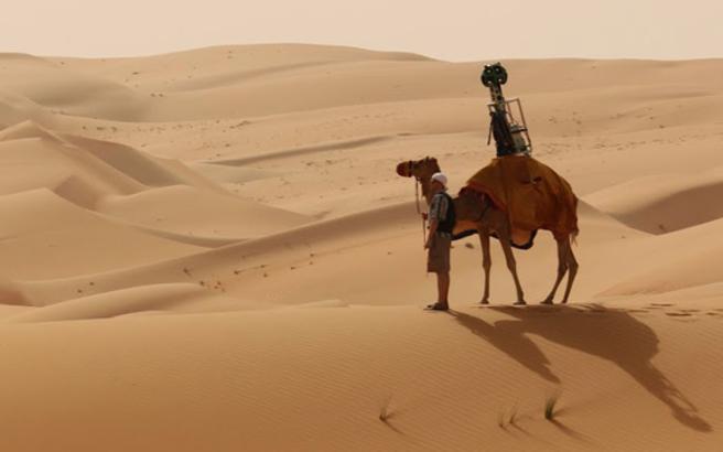 Οι χάρτες της Google «εξερευνούν» την έρημο Λίβα – Newsbeast