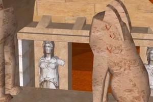 Τρισδιάστατη περιήγηση στον τάφο της Αμφίπολης