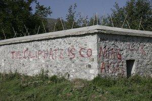 Καταδικάζει ο μουφτής του Κοσόβου τα γκράφιτι για το Ισλαμικό Κράτος