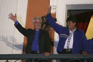 Τη νίκη του στις προεδρικές εκλογές ανακοίνωσε ο Έβο Μοράλες