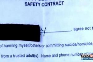 Έβαλαν 5χρονη να υπογράψει ότι δεν θα σκοτώσει τους συμμαθητές της