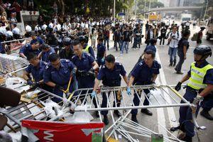 Ξηλώσανε οδοφράγματα στο Χονγκ Κονγκ