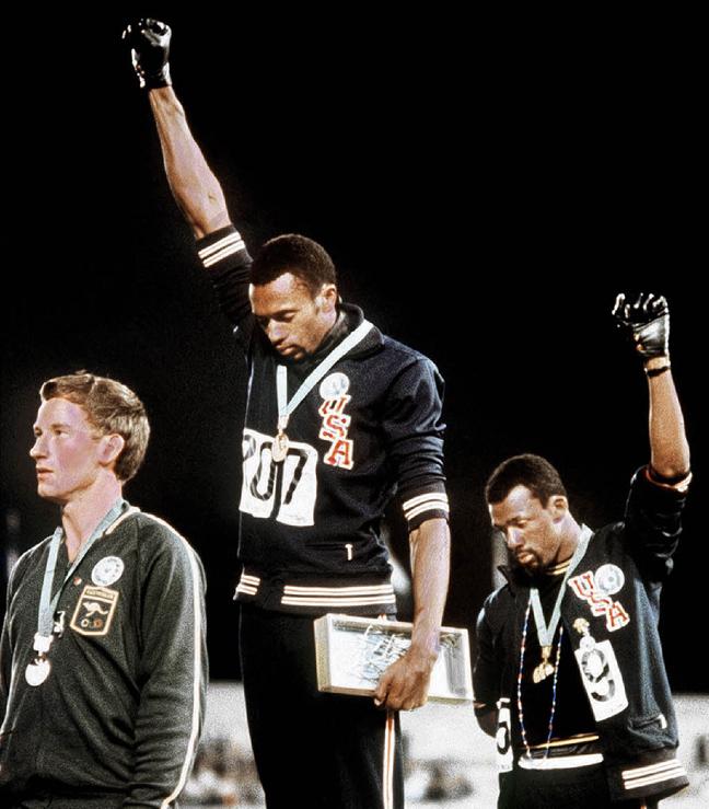 Οι υψωμένες γροθιές στους Ολυμπιακούς Αγώνες (1968)