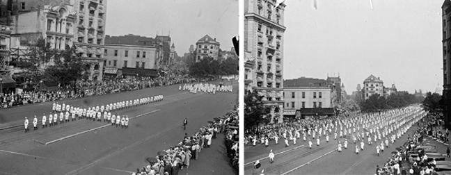 Οι δύο ιδιαίτερες πορείες της Ουάσιγκτον (1925/1963)