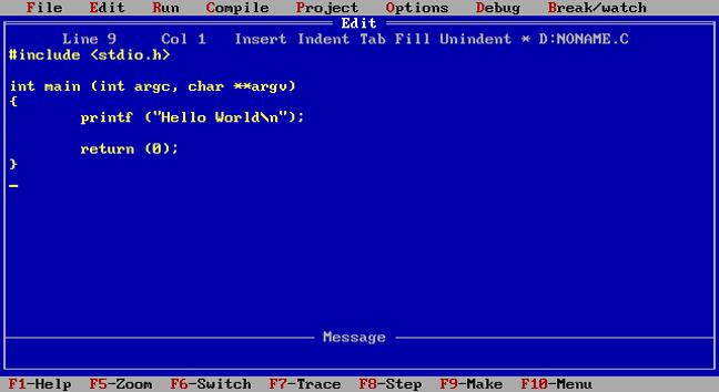 Γλώσσα προγραμματισμού C