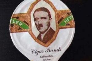 Σέρβιραν γάλα διακοσμημένο με τα κεφάλια του... Χίτλερ και του Μουσολίνι!