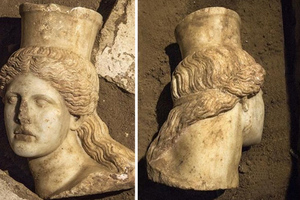 Αμφίπολη: Η κεφαλή της Σφίγγας «καθάρισε» και θα εκτεθεί για το κοινό