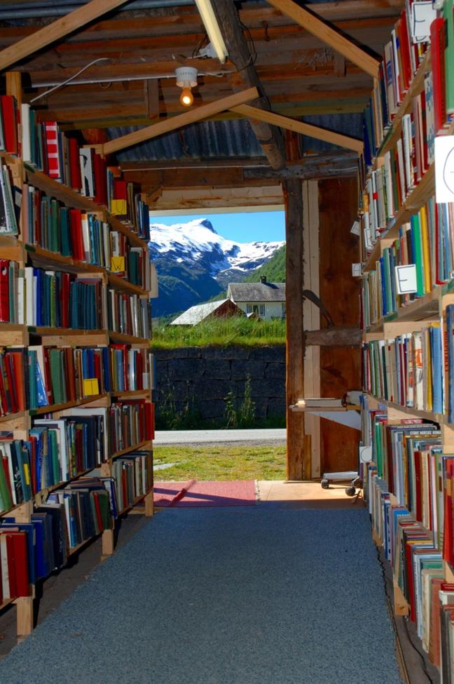 Fjaerland book town, Νορβηγία