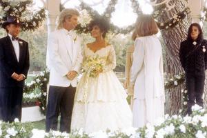 Ο Michael Jackson στο γάμο της Elizabeth Taylor