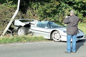 Ένα από τα ακριβότερα αυτοκινητικά ατυχήματα