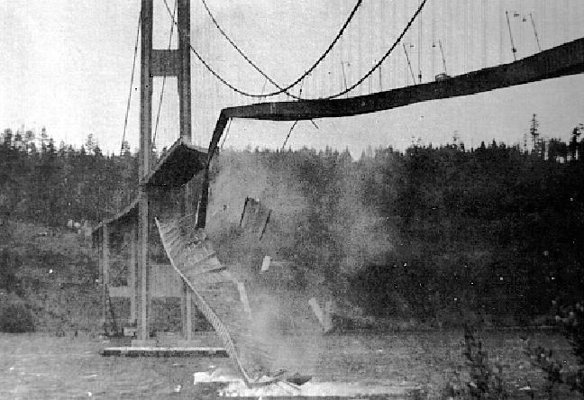 Η κατάρρευση της γέφυρας Tacoma